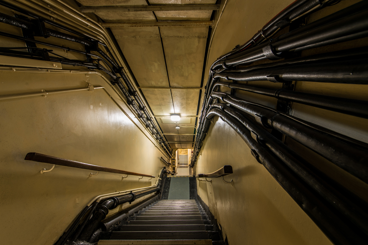 Bunker staircase